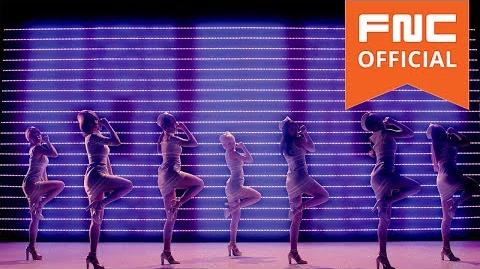 AOA - Short Hair (Silhouette Dance Ver)