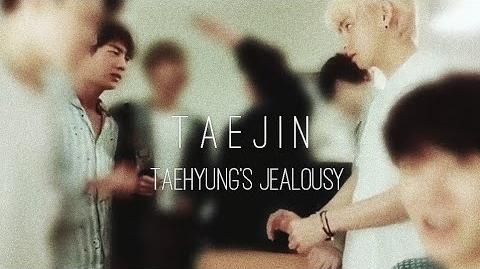 When Taehyung's jealousy is too obvious TaeJin VJin 태진