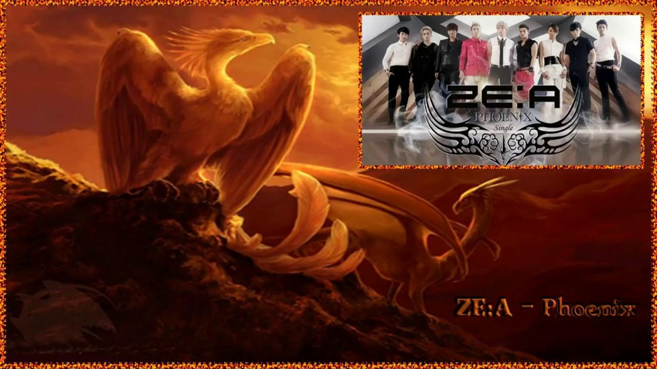ZE A - Phoenix Full MV k-pop german sub