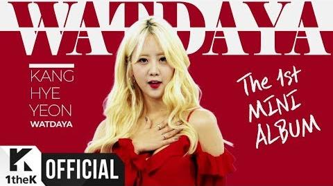 MV kang hye yeon(강혜연) great(왔다야)