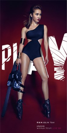 220px-Jolin Tsai Play World Tour Live Album Cover