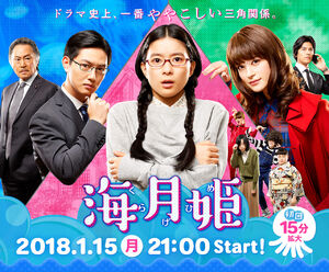 Kuragehime Fuji TV2018