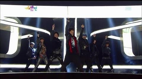 S.M. The Performance & Zedd SPECTRUM 2012 SBS 'The Color of K POP' Part2 2012.12