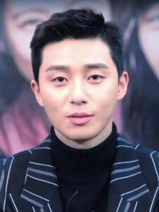 Park Seo-joon in Hwarang Promotion