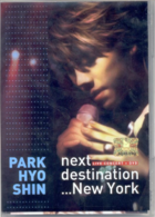 Park Hyo Shin Live Album