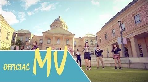 MV Official Apink, B.A