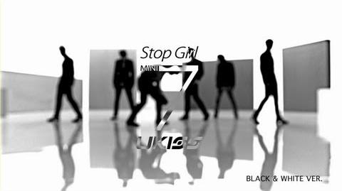 U-KISS- Stop Girl (Black&White)