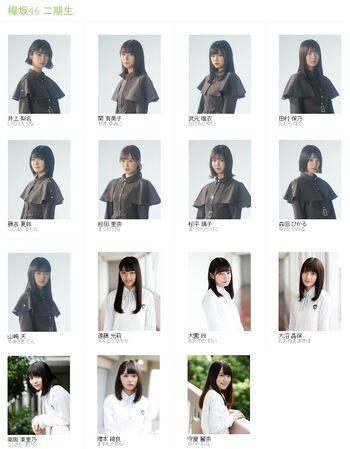 Keyakizaka46 2nd Generation