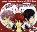 Voice Calendar Story of 365 days HEART Anniversary from January to March