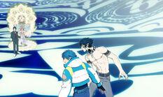 Aoba,ren vs toue and ushi