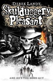 Skulduggery Pleasant book cover