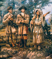 Detail Lewis & Clark at Three Forks