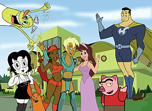 Drawn together секс