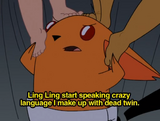 Ling Ling starts speaking Japorean