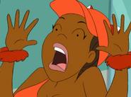 Foxxy screaming