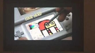 Drawn to Life Nintendo DS Commercial 2009-0