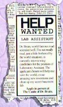 Lab Assistant Wanted