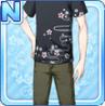 Stylish Sakura Shirt Black