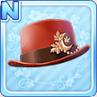 Akizuki Silk Hat Red