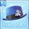 Akizuki Silk Hat Blue