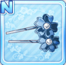 Sakura Hair Pins Blue