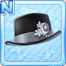 Akizuki Silk Hat Black