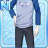 Dolphin Heart Shirt Blue