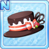 Melty Choco Hat Brown