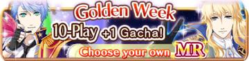 Golden Week 10-Play Gacha