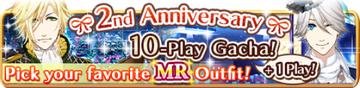 2nd Anniversary 10-Play Gacha