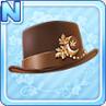 Akizuki Silk Hat Brown
