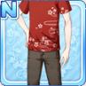 Stylish Sakura Shirt Red