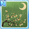 Cherry Blossoms & The Moon Green