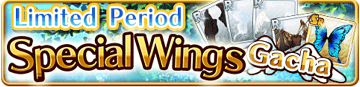 Special Wings Gacha Banner