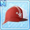 Cherry Blossom Cap Red