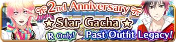 2nd Anniversary Stars Gacha Banner