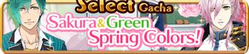 Sakura & Green Spring Colors Gacha