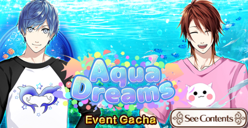 Aqua Dreams Event Gacha Header