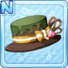 Melty Choco Hat Green