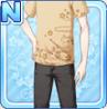 Stylish Sakura Shirt Beige