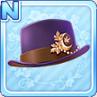 Akizuki Silk Hat Purple