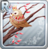 Jeweled Owl In Red
