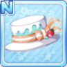 Melty Choco Hat White