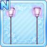 Glowing Lamps Purple