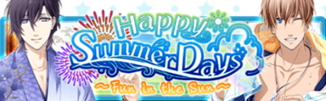 Happy Summer Days Banner
