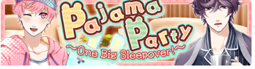 Pajama Party Event Banner