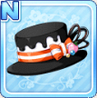 Melty Choco Hat Black