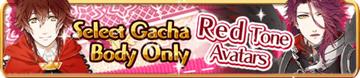 Red Tone Avatars Gacha Banner