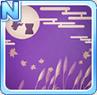 Tsukimi Pattern Purple