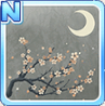 Cherry Blossoms & The Moon Gray